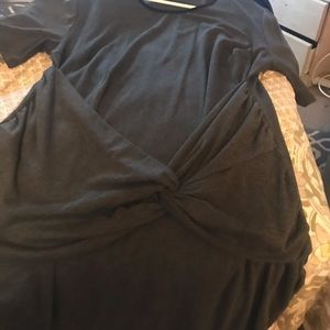 Twist front ASOS bodycon dress